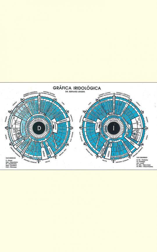 gráfica iridologíca