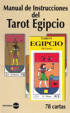 Manual de instrucciones del tarot egipcio