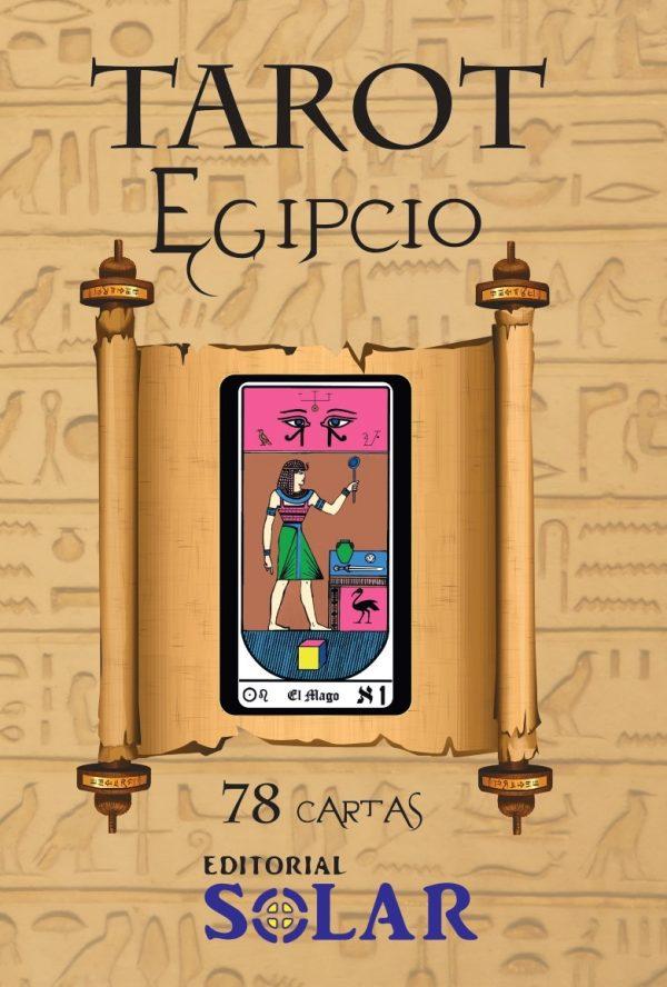 Libro Manual Tarot Egipcio